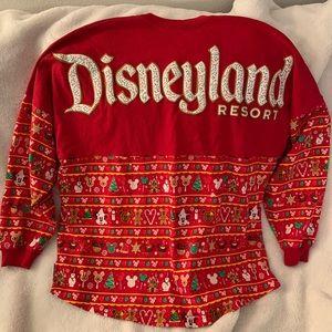 Disney Red Christmas Spirit Jersey Large
